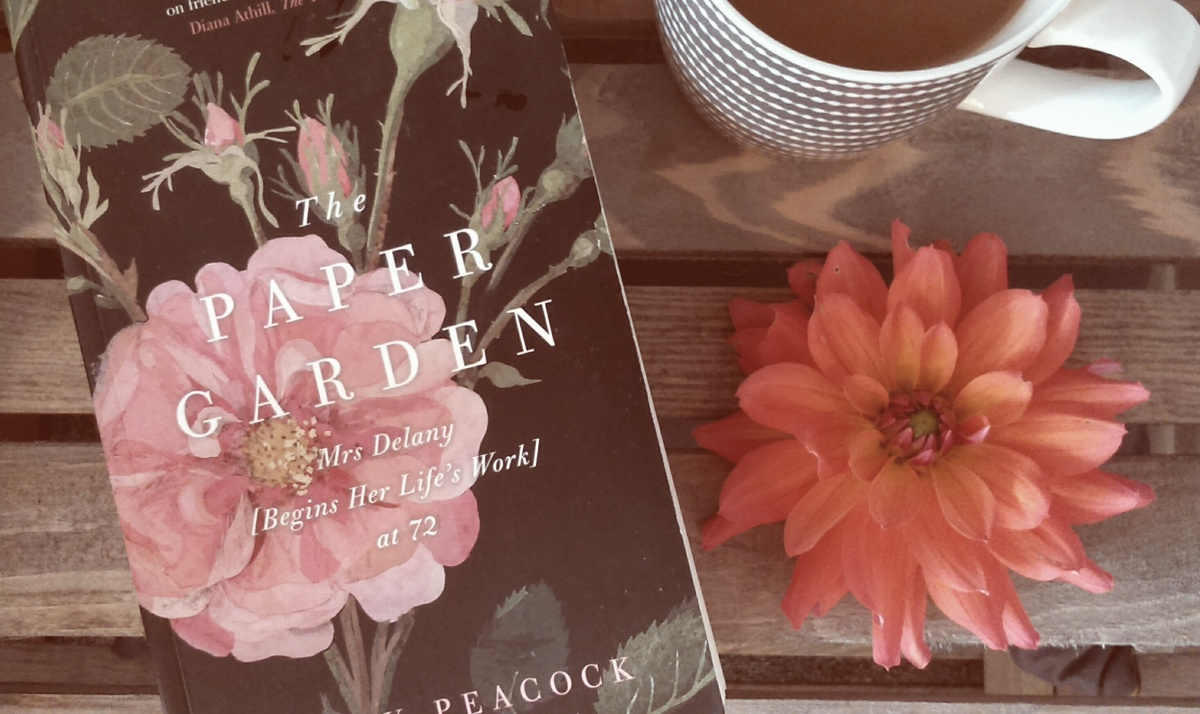The Paper Garden: Mrs Delany [Begins Her Life's Work] at 72