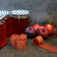 Plot to Plate: Spiced Crab Apple Jelly and Crab Apple Fruit Leathers