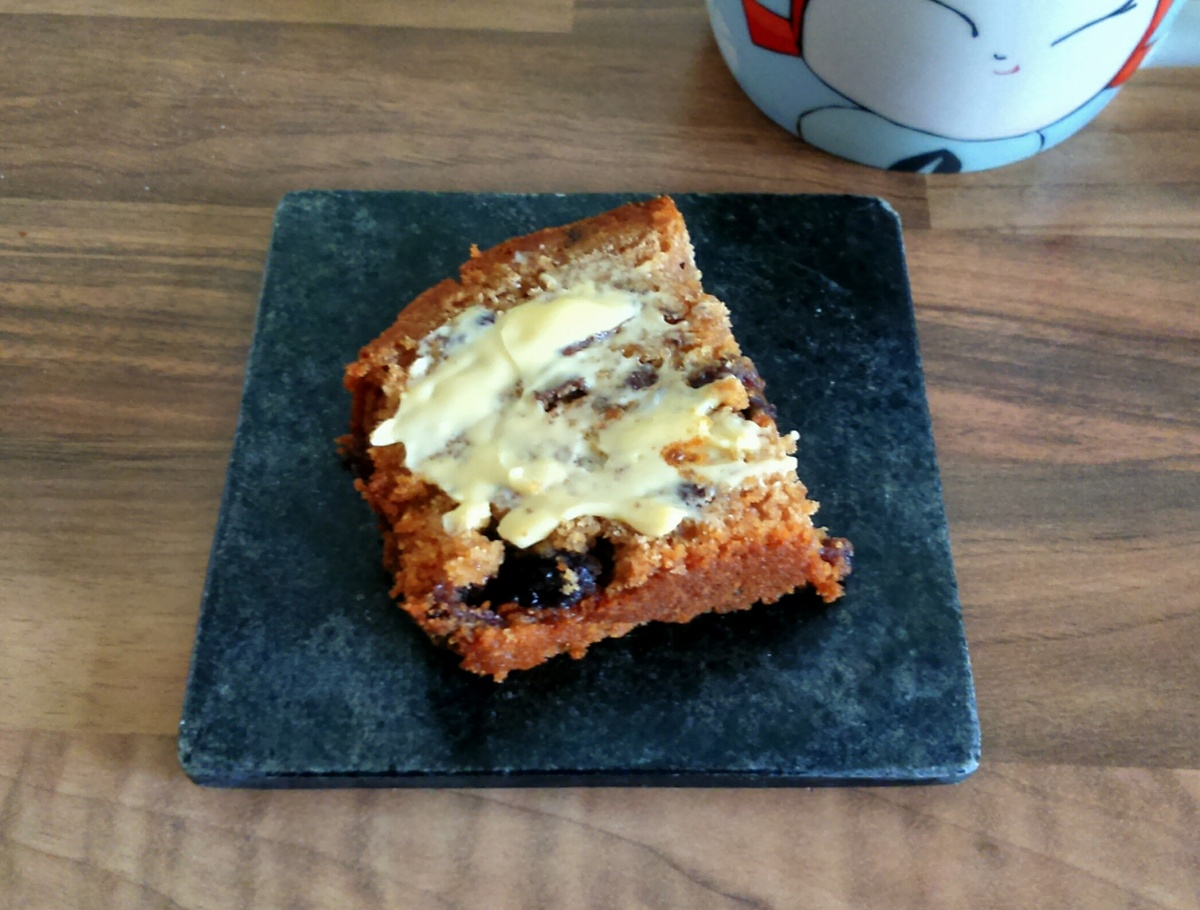 Plot to Plate: Courgette Tea Bread