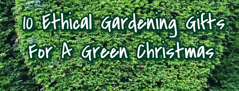 10 Ethical Gardening Gifts For A Green Christmas – Dogwooddays
