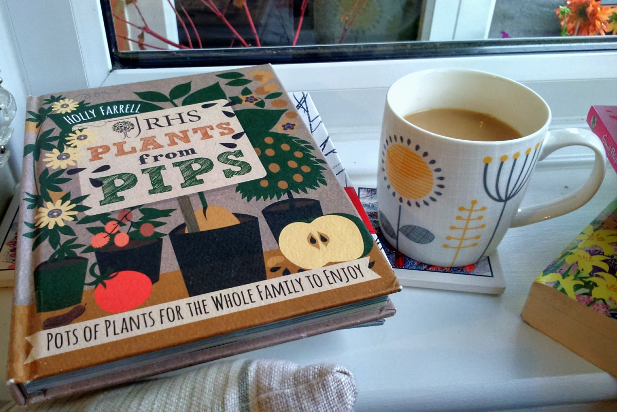 Book Review: RHS Plants From Pips and The Little Book of Hygge