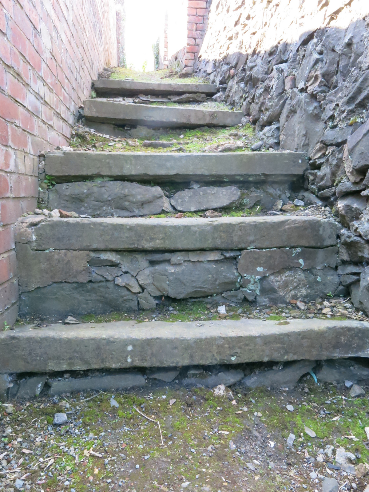 Snicket Steps, Gyffin. Image credit Rob Carter